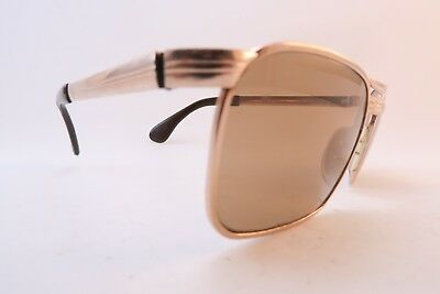 Vintage gold filled sunglasses Marwitz OPTIMA Germany 56-20 135 men's M KILLER