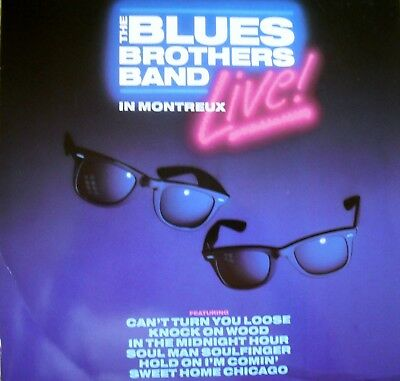 "Music Laserdisc "" BLUES BROTHERS BAND LIVE ""   RARE"