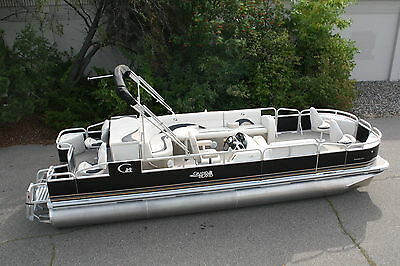 Fall blowout-New 24  fish and fun Grand Island pontoon boat with 60 hp 4 stroke