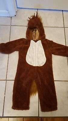 Toddler Plush Horse Costume 2T to 3T