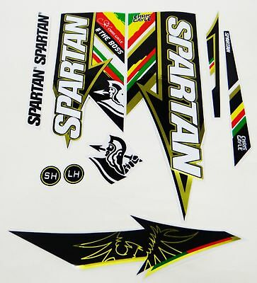 Spartan CG The BOSS EDITION CRICKET BAT STICKERS 3D Embossed *NEW!*