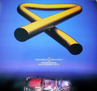 "Music Laserdisc "" MIKE OLDFIELD - TUBULAR BELLS II ""  RARE"