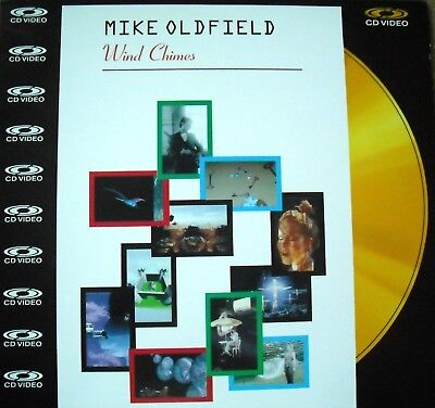 "Music Laserdisc "" MIKE OLDFIELD - WIND CHIMES ""  RARE"