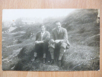 Vintage Postcards Real Photo Possibly Lossiemouth ??