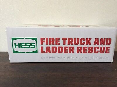 HESS Fire truck and ladder rescue toy