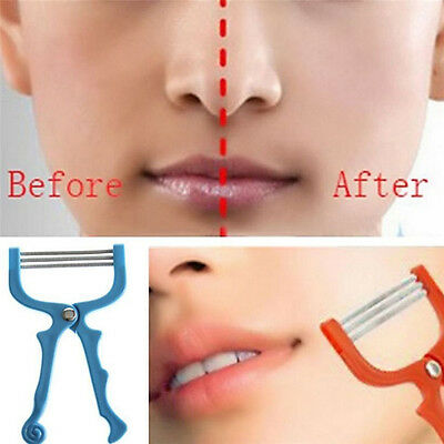 New Handheld Face Facial Hair Removal*Threading Beauty Epilator Epi Roller Tool