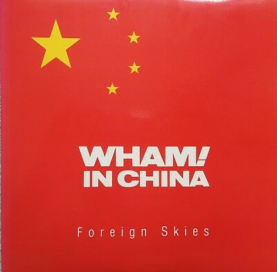 "Music Laserdisc "" WHAM IN CHINA - FOREIGN SKIES ""  RARE"