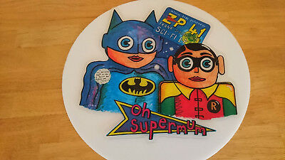 """Frank Sidebottom – Sci-Fi E.P. 1986 UK Limited Edition Shaped 7"""" Picture Disc"""