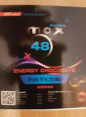 High Energy chocolate for women