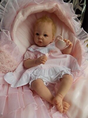Reborn Baby Girl Doll - EMILY Little Luca - Sculpt by Elly Knoops - preemie baby