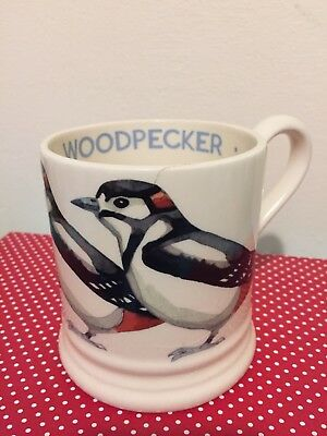 Emma Bridgewater Great Spotted Woodpecker 1/2 Pint Mug