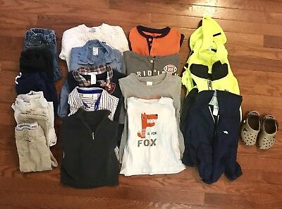BABY BOYS Fall-Winter CLOTHES OUTFIT LOT. Size 24-2T GREAT BRANDS!! :)
