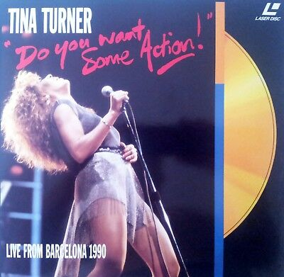 """Music Laserdisc """" TINA TURNER - DO YOU WANT SOME ACTION """""""