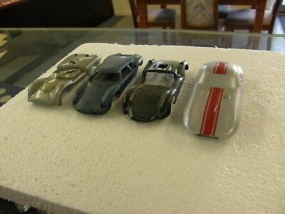 COLLECTION LOT USED 1960's SLOT RACE CAR BODIES