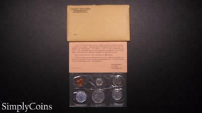 1962 Proof Set ~ Original Envelope With COA ~ US Mint Silver Coin Lot SKU-663