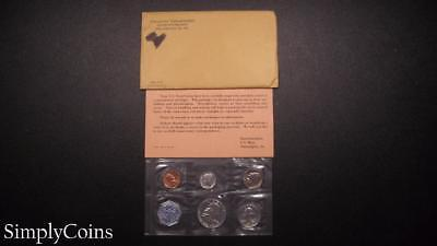 1963 Proof Set ~ Original Envelope With COA ~ US Mint Silver Coin Lot SKU-668