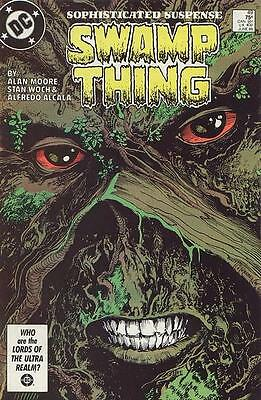 (1986) SWAMP THING #49! 1st CAMEO Appearance of Justice League Dark! Alan Moore!