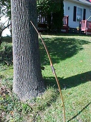 """1950s STEMMLER ARCHERY 59"""" LONGBOW Clean Condition"""