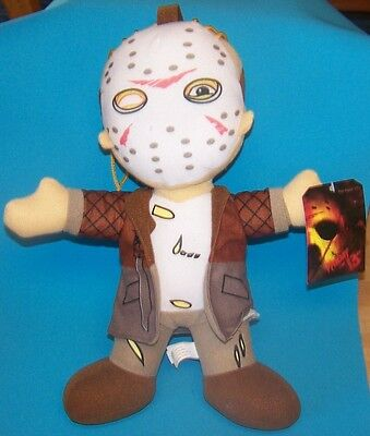 Toy Factory Jason Voorhees Plush Friday the 13th  NWT