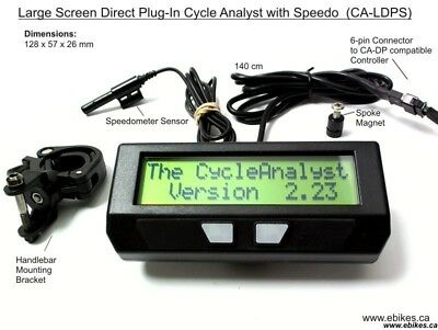 Grin Cycle analyst CA-DPS and Juiced U500 V3 adapter cable kit