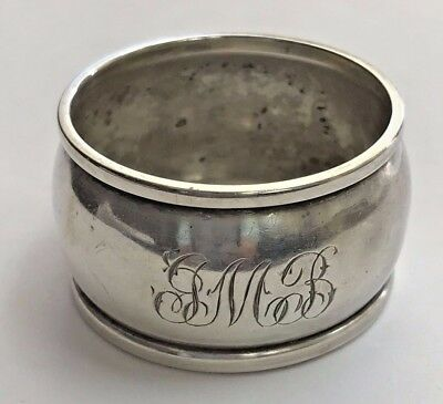 Vintage Watrous Sterling Silver 32 Napkin Ring