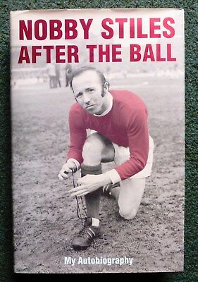 Nobby Stiles of Manchester United and England Biography