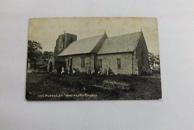 Mundesley, Trimmingham Church Postcard Posted 1917