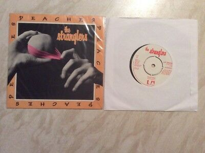 THE STRANGLERS - Peaches ORIG UK 7' In RARE PIC SLEEVE! 1977