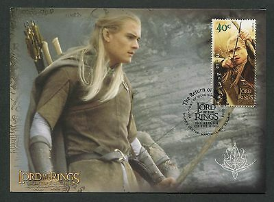 NZ MK HERR DER RINGE / LORD OF THE RINGS LEGOLAS CARTE MAXIMUM CARD MC CM m125