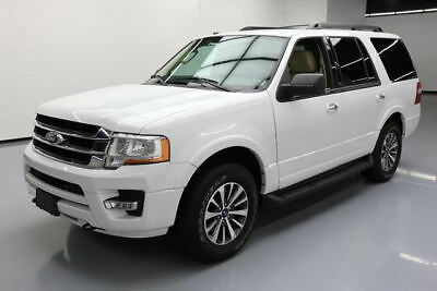 2016 Ford Expedition  2016 FORD EXPEDITION 4X4 ECOBOOST LEATHER NAV DVD 39K #F11261 Texas Direct Auto
