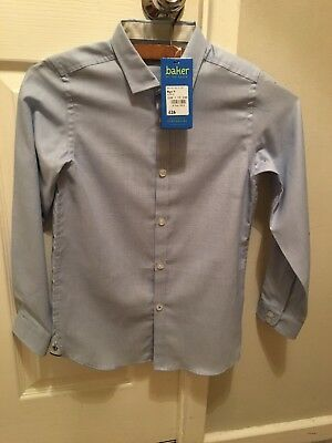Ted baker boys light blue smart shirt. New with tags. Age 9 years.
