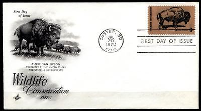 Wisent. FDC. USA 1970
