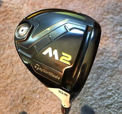 TaylorMade 2017 M2 Driver 10.5* Head Only - Version 2 K Serial - Excellent - RH