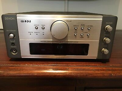 Denon UDRA-M7 Micro Integrated Amplifier With Built In Fm Am Receiver 4 Inputs