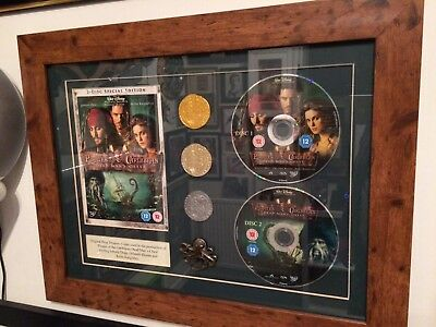 Pirates of the Caribbean Prop Coins including rare bronze coin