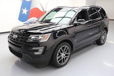 2017 Ford Explorer Sport Sport Utility 4-Door 2017 FORD EXPLORER SPORT AWD ECOBOOST NAV LEATHER 20K #B16620 Texas Direct Auto