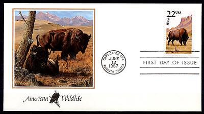 Wisent. FDC. USA 1987
