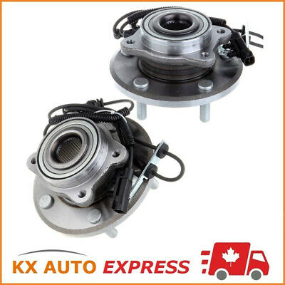 Pair of 2 New Front Wheel Hub & Bearing Assembly Set for Left & Right Side