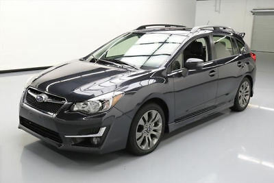 2015 Subaru Impreza  2015 SUBARU IMPREZA 2.0I SPORT LTD AWD LEATHER NAV 3K #329473 Texas Direct Auto