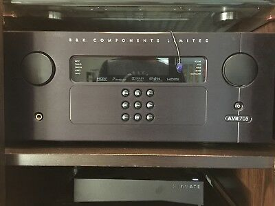B&K AVR 705 5.1 Channel 125 Watt X 5 @ 8