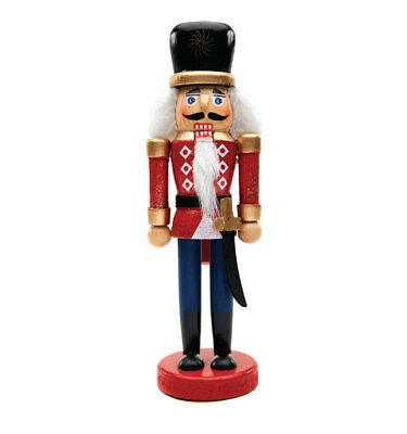 Nutcracker Drummer Christmas Stand Up Decoration Holiday Standee Soldier RED