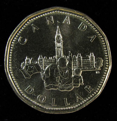 Canada Parliament commemorative 1992 (loonie)   $1 dollar coin UNC from roll
