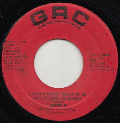 Ripple  I Dont Know What It Is  Ja Orig  Rare Groove Anthem  Rare Jamaican Issue