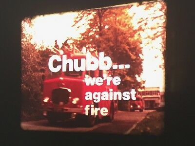 16mm Cine Film - Chubb We're Against Fire - Information Film From 1975 - F13/5