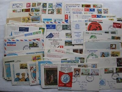 Large Collection of New Zealand 1960's FDCs (64)