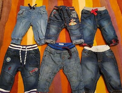 Baby boy jeans trousers bundle 3-6 months including next
