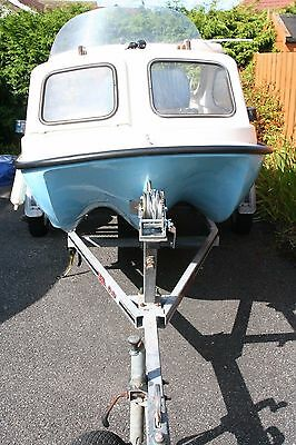 Shetland boat 17' Ready to go 2 Johnson Outboards 35HP and 2.3 HP both working