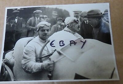 Rare Photograph 1922 Isle Of Man Tourist Trophy Race Frank Clement Bentley