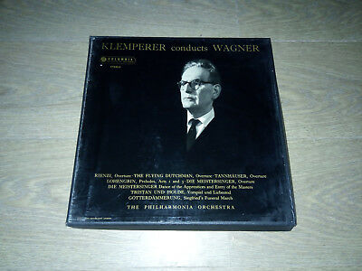 Klemperer Conducts Wagner Philharmonia Orchestra 2xLP Box Set SAX2347/8 Blue/Sil