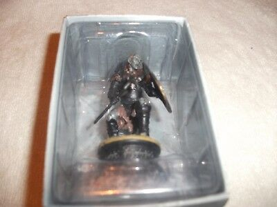 Eaglemoss Lord Of The Rings Chess Set 1 Issue 16 Orc Axeman black pawn boxed